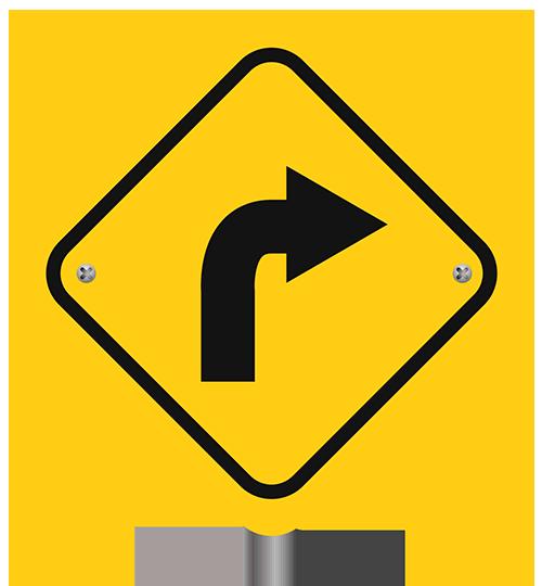 Right Turn Ahead