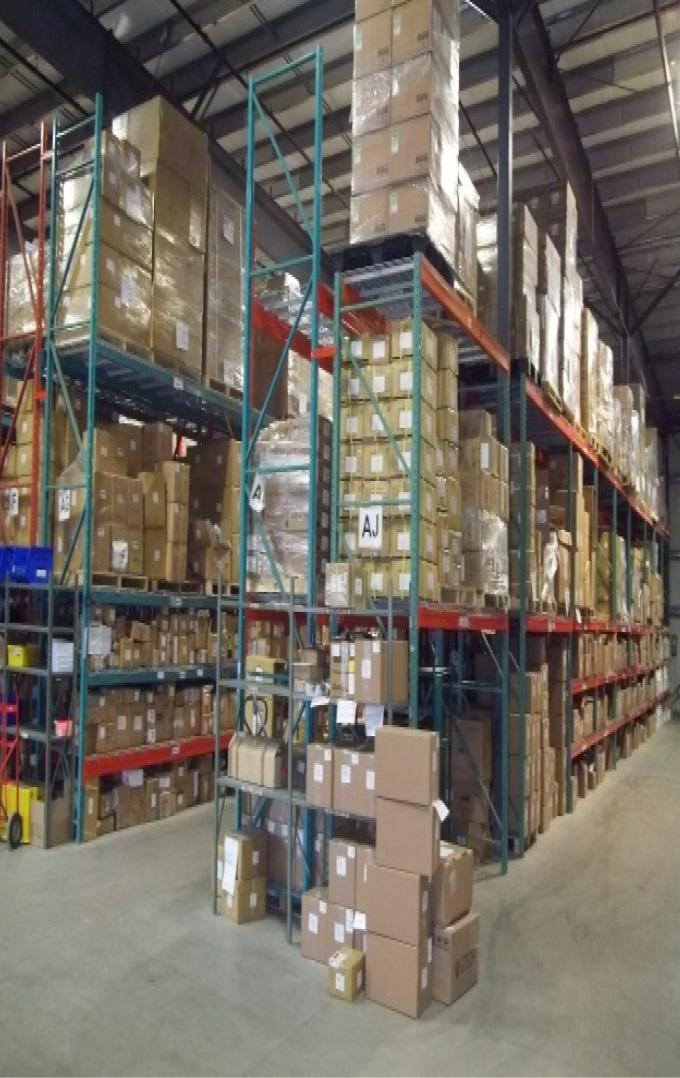 Keltic Transportation warehouse and storage shelving